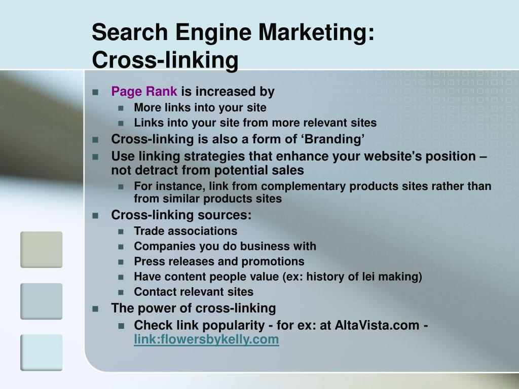 Search Engine Marketing: