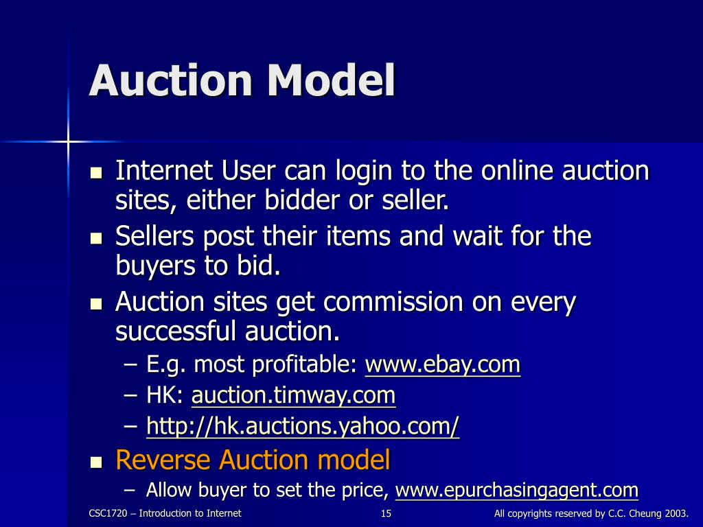 Auction Model