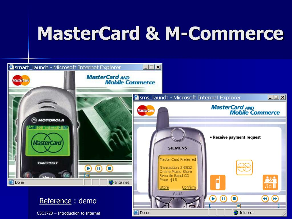 MasterCard & M-Commerce