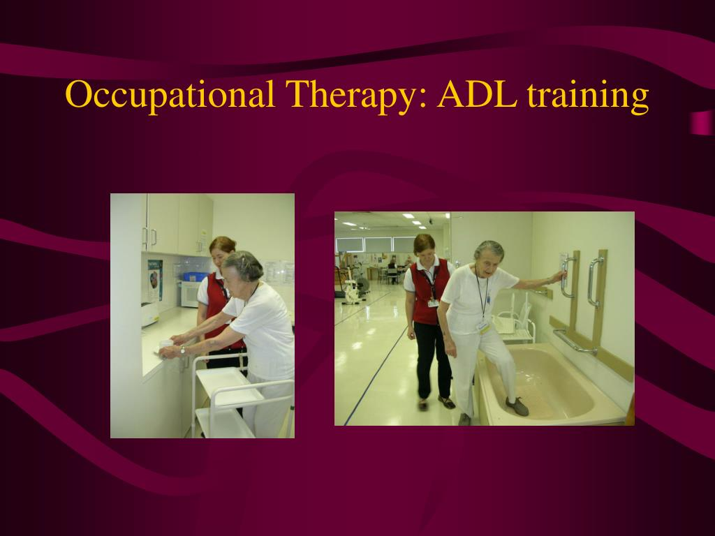 occupational therapy The montreal children's hospital occupational therapy department assesses and provides short-term intervention for children with special needs from infancy.