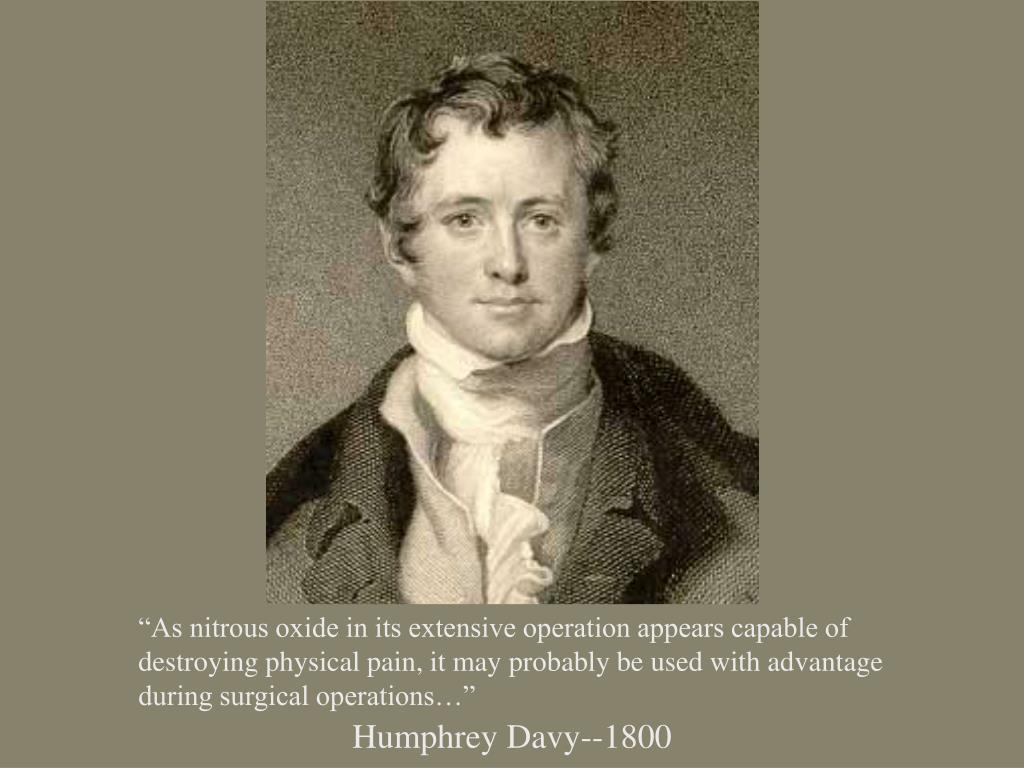 Humphrey Davy--1800