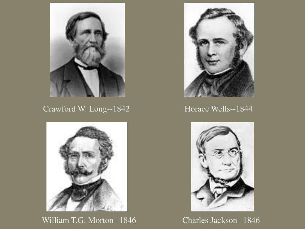 Crawford W. Long--1842