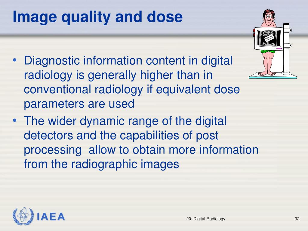 Image quality and dose