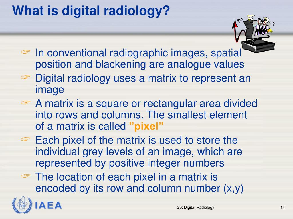 What is digital radiology?