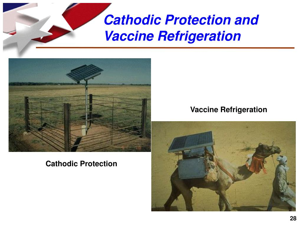 Cathodic Protection and Vaccine Refrigeration