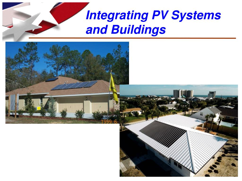Integrating PV Systems and Buildings