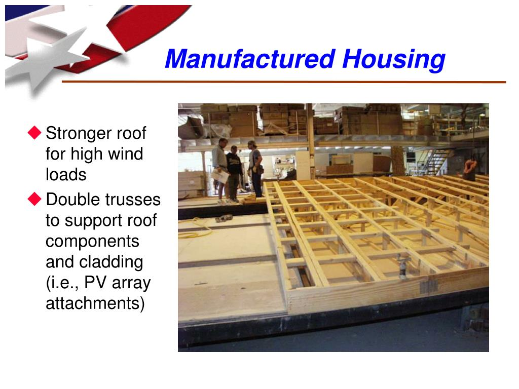 Stronger roof for high wind loads