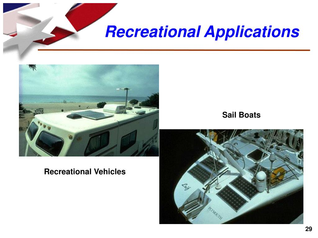 Recreational Applications