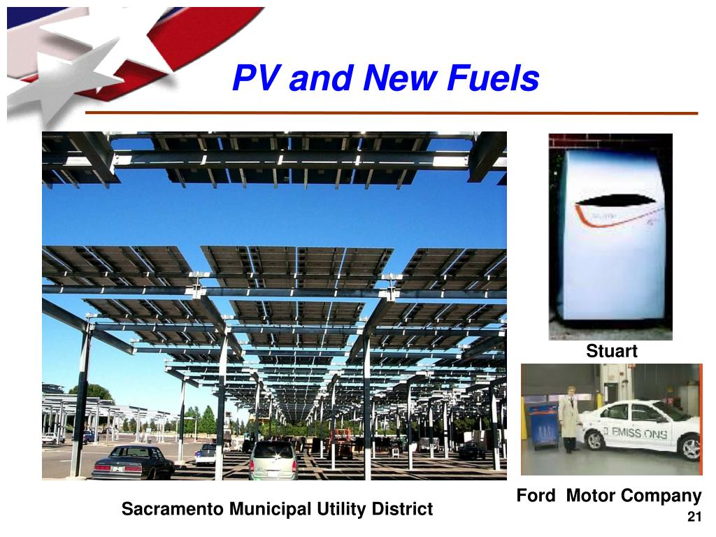PV and New Fuels