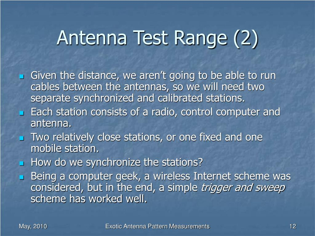 Antenna Test Range (2)
