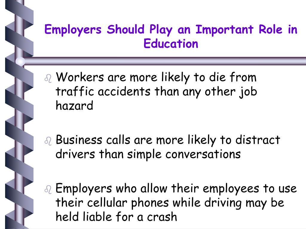 Employers Should Play an Important Role in Education