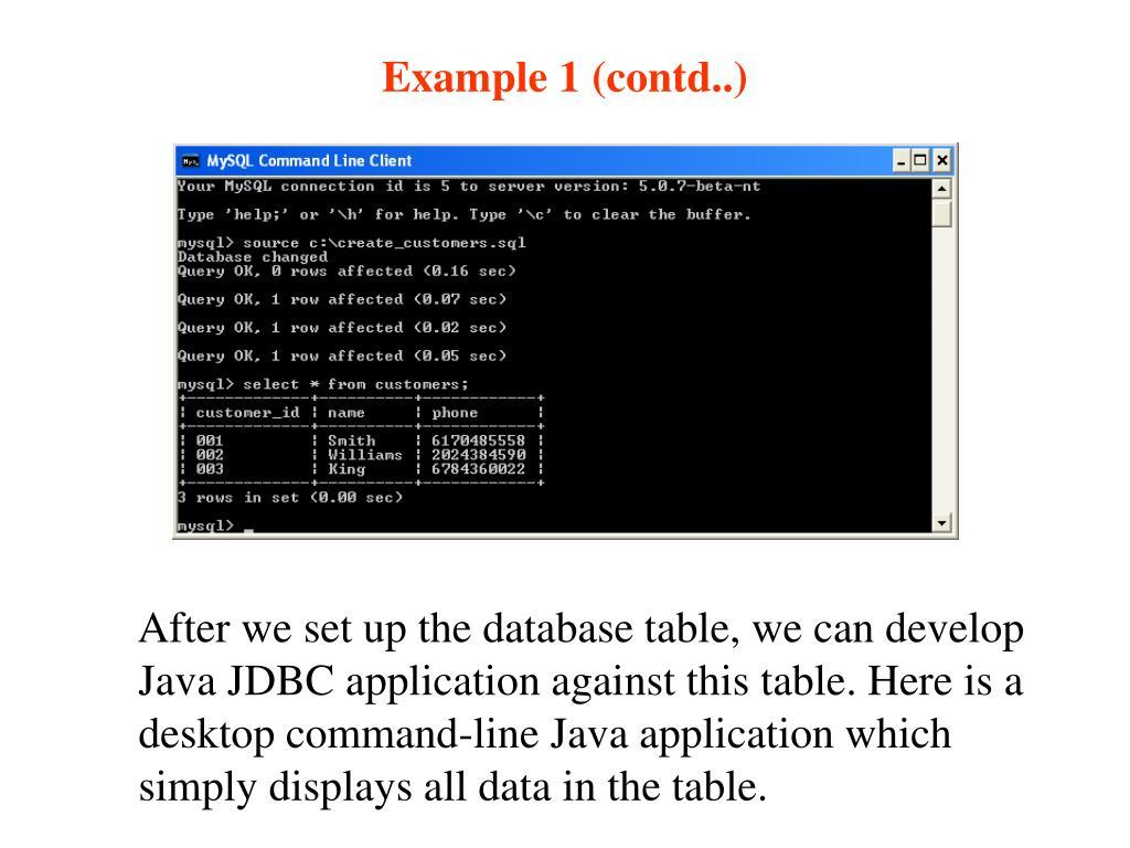 Example 1 (contd..)