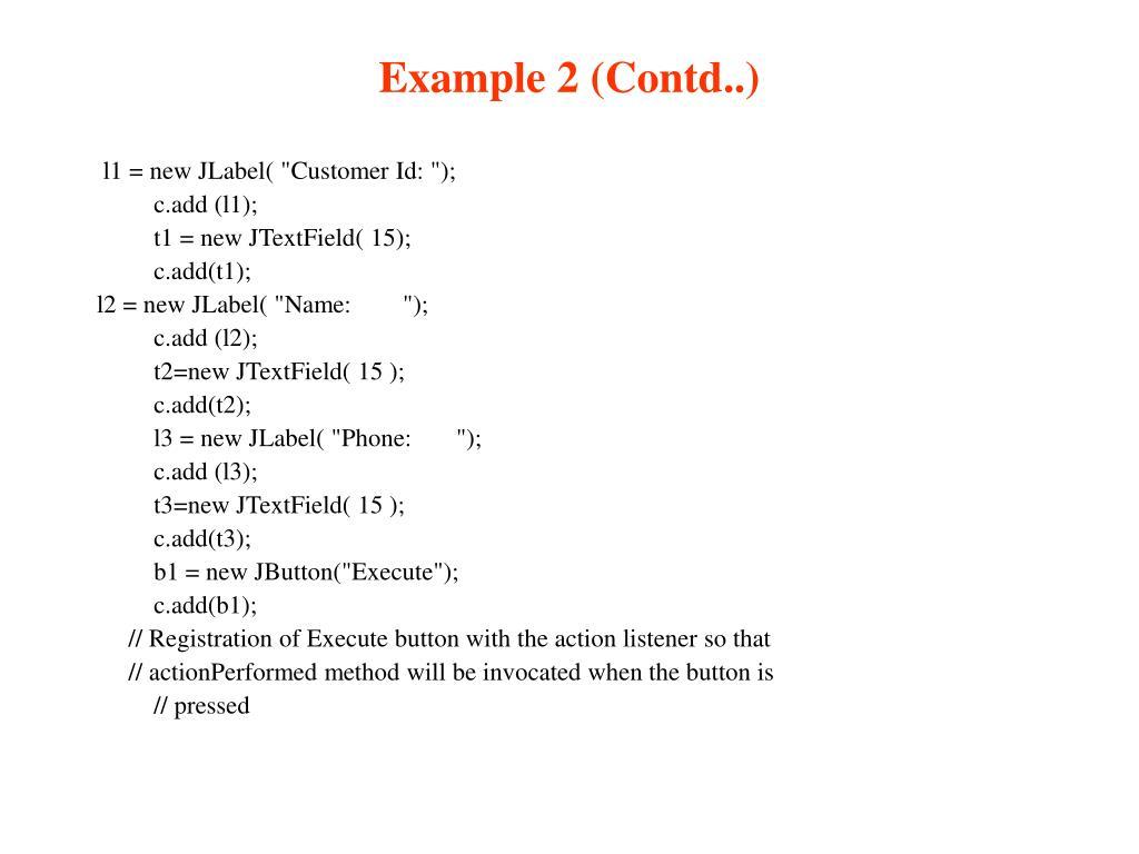 Example 2 (Contd..)
