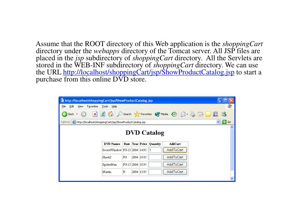 Assume that the ROOT directory of this Web application is the