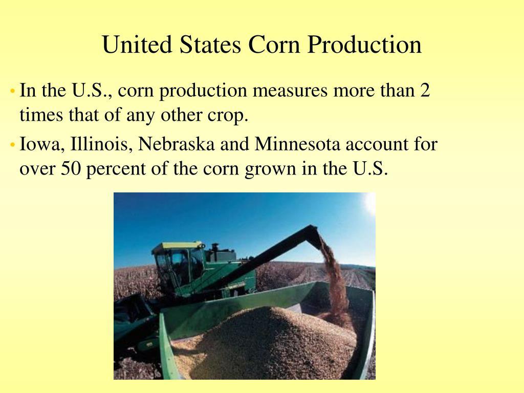 United States Corn Production
