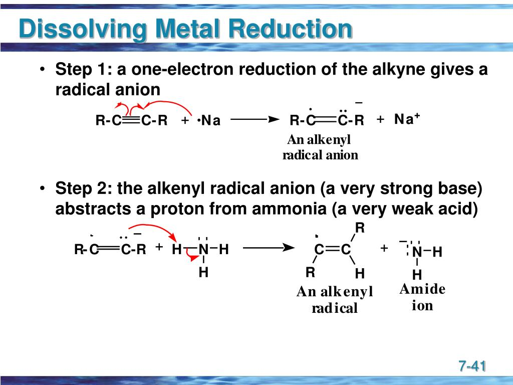 Dissolving Metal Reduction