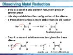 dissolving metal reduction42