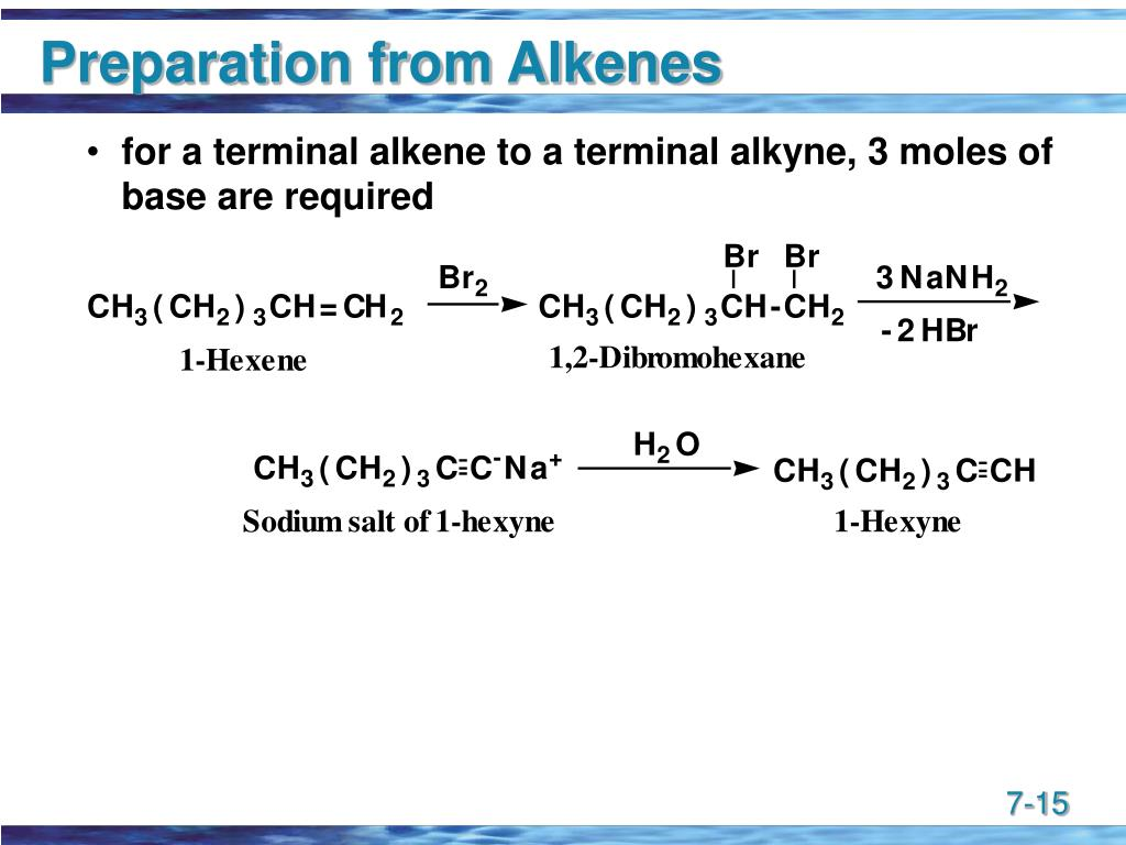 Preparation from Alkenes