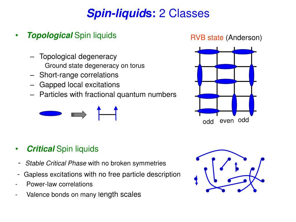 Spin-liquid