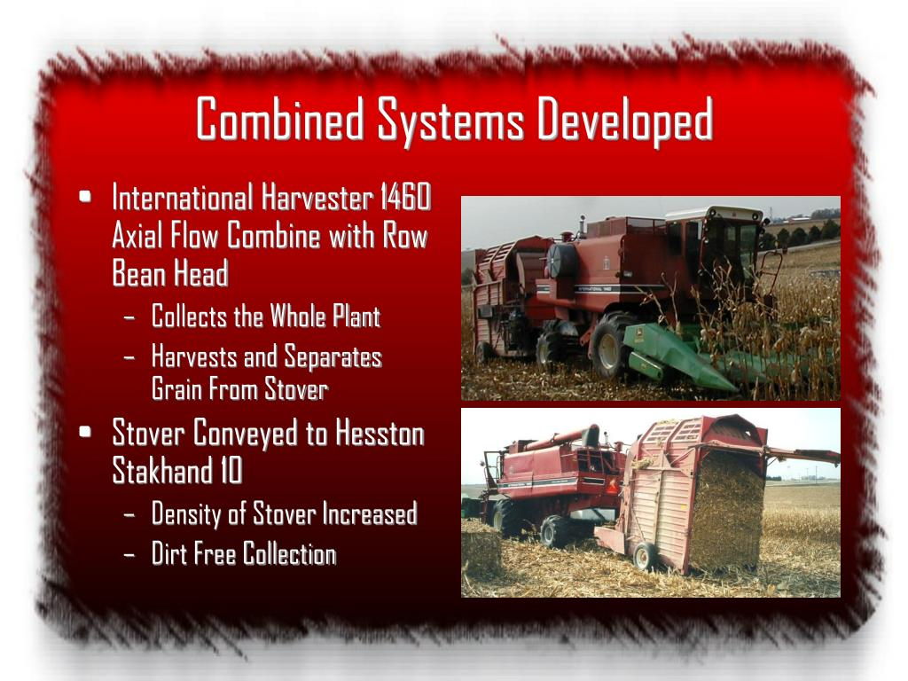 Combined Systems Developed