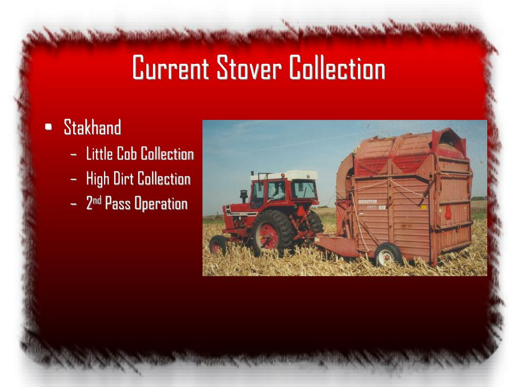 Current Stover Collection