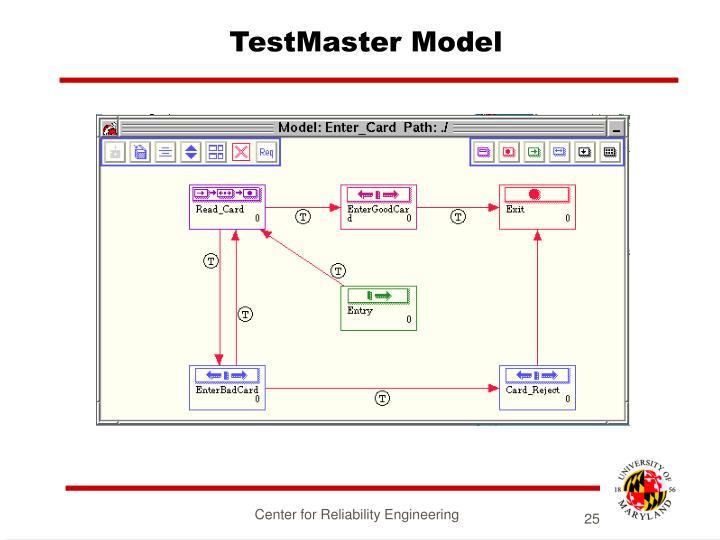 TestMaster Model