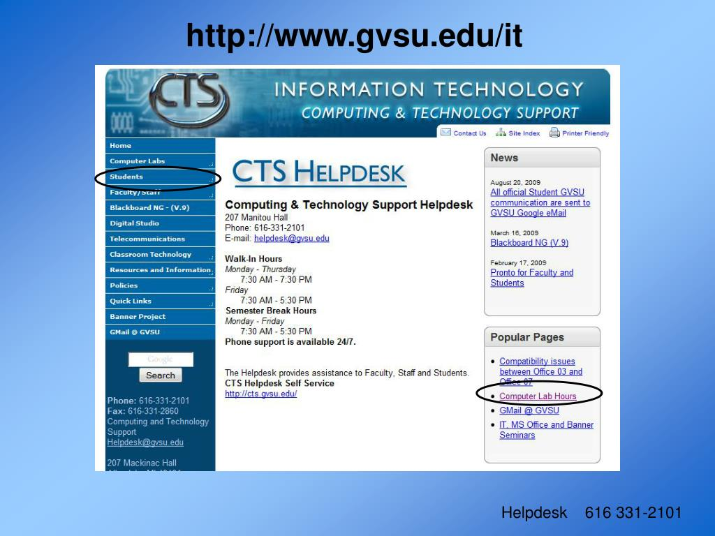 http://www.gvsu.edu/it