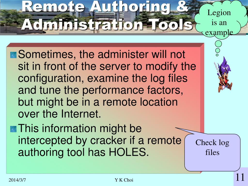 Remote Authoring & Administration Tools