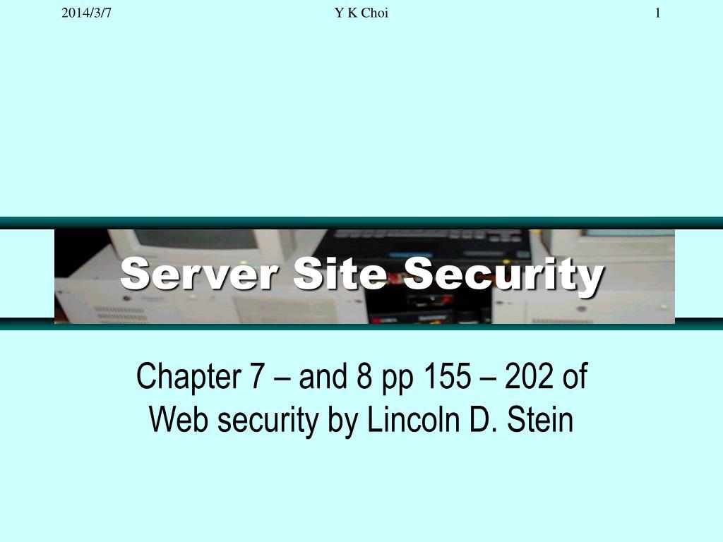 server site security