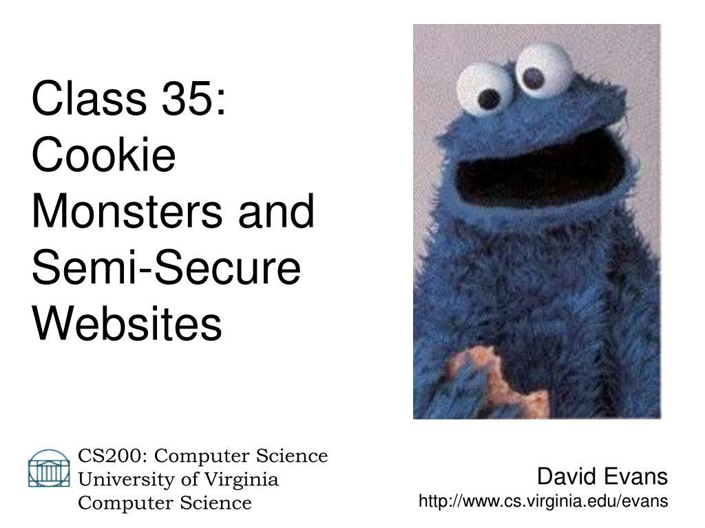 Class 35: