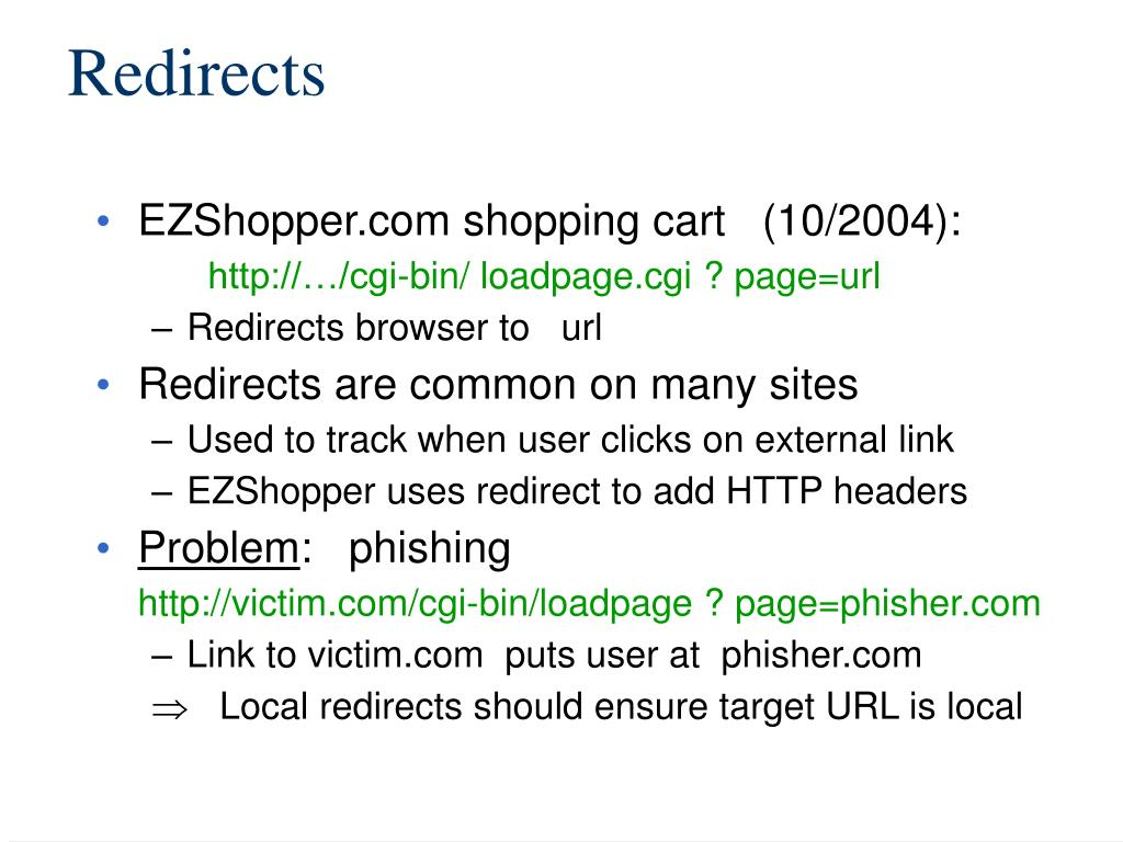 Redirects