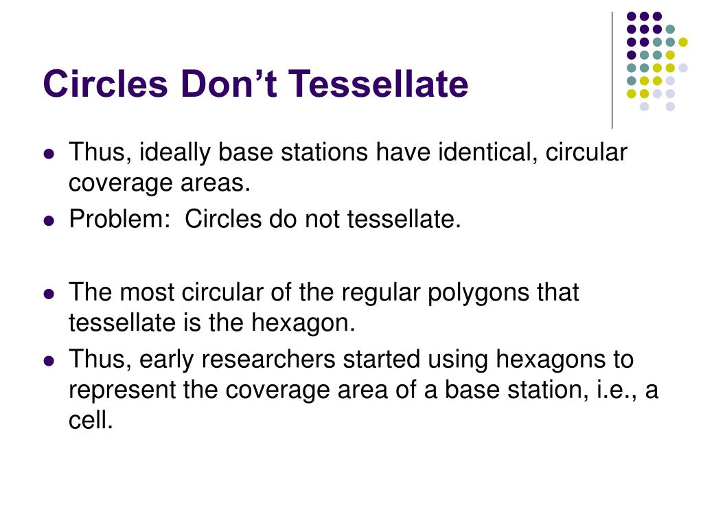 Circles Don't Tessellate
