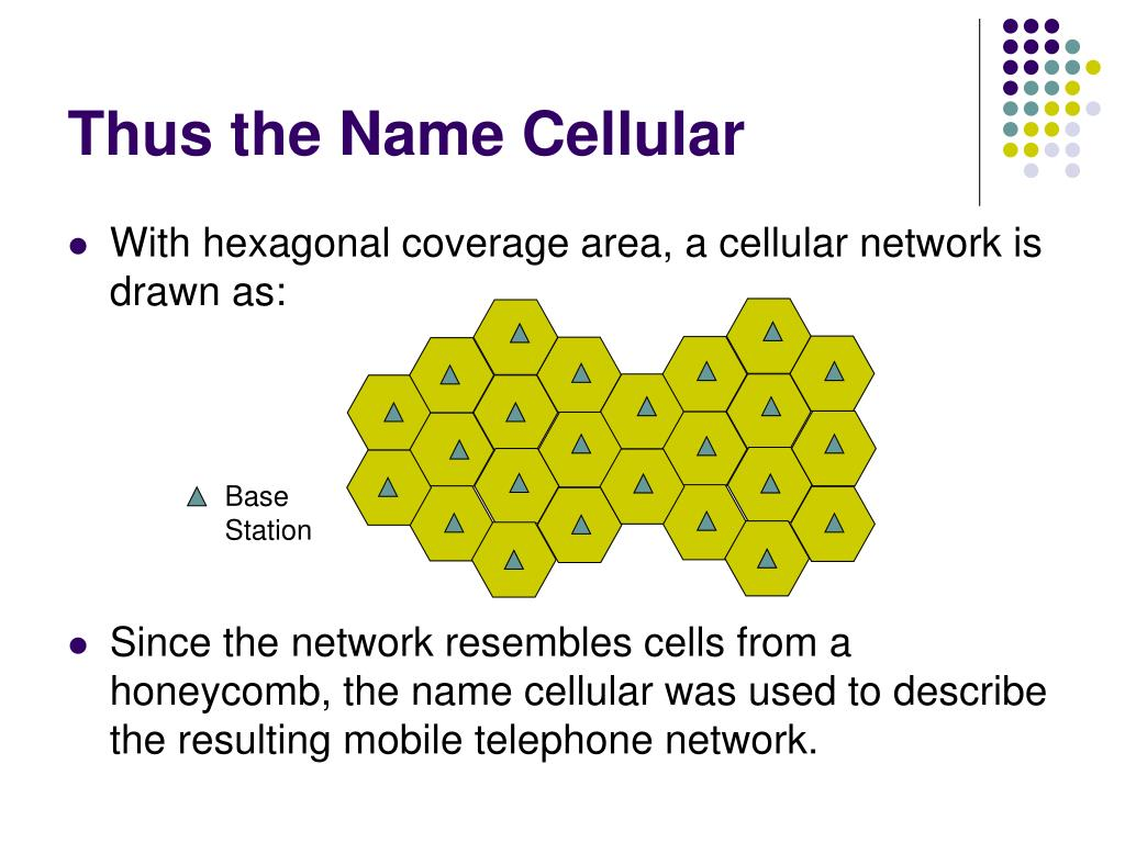 Thus the Name Cellular