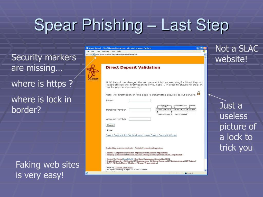 Spear Phishing – Last Step
