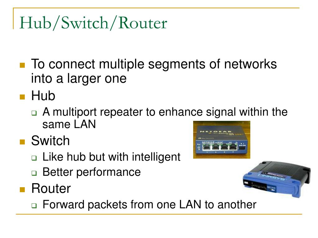 Hub/Switch/Router