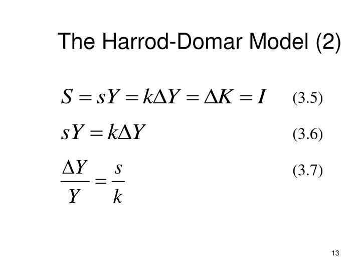 The Harrod-Domar Model (2)