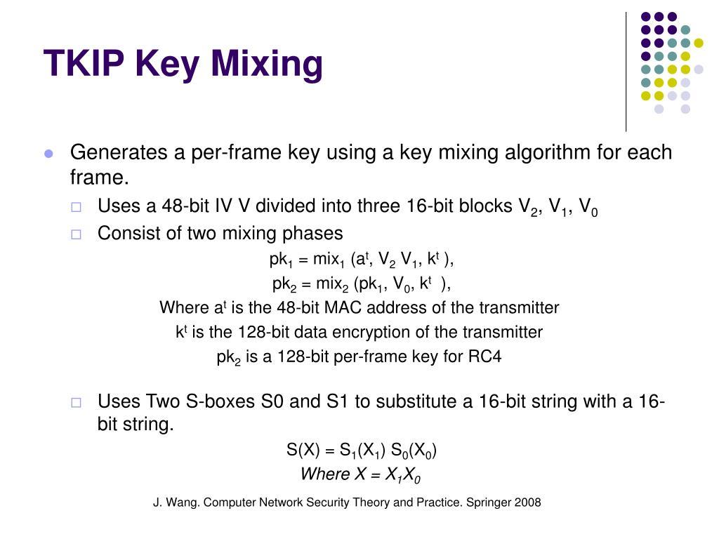 TKIP Key Mixing