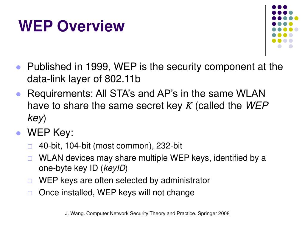 WEP Overview