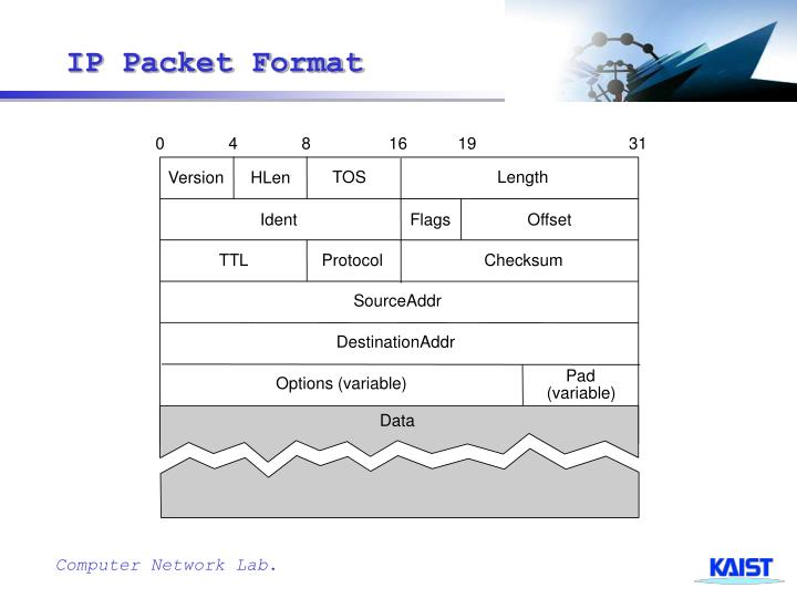 Ip packet format