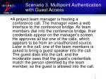 scenario 3 multipoint authentication with guest access