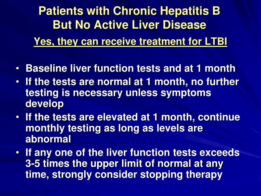Patients with Chronic Hepatitis B