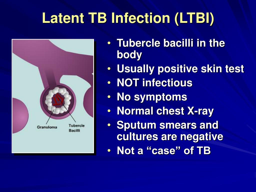 Latent TB Infection (LTBI)