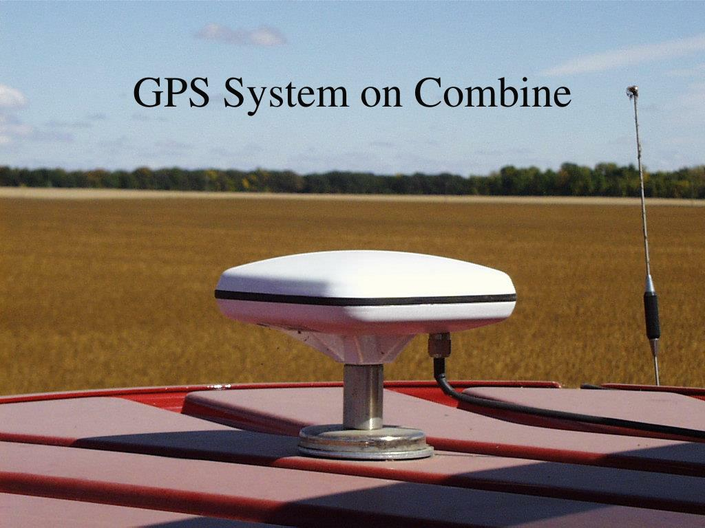 GPS System on Combine