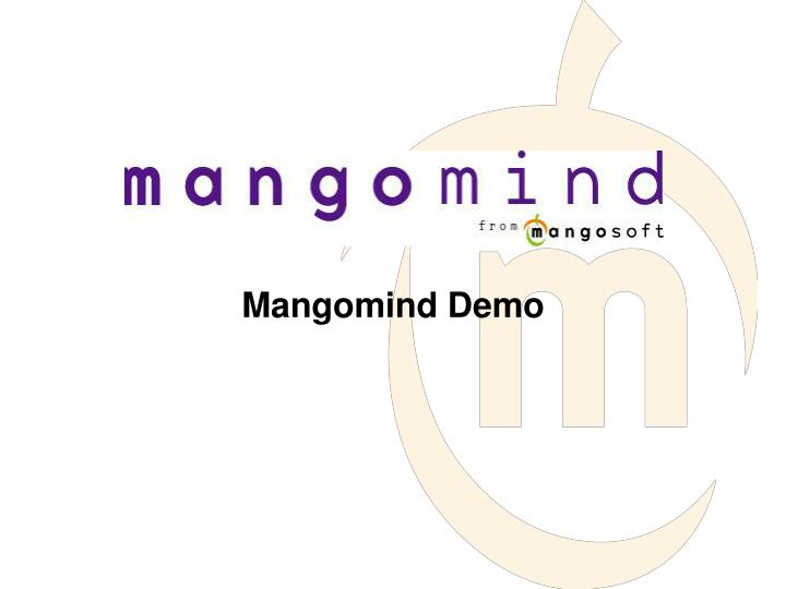 Mangomind Demo