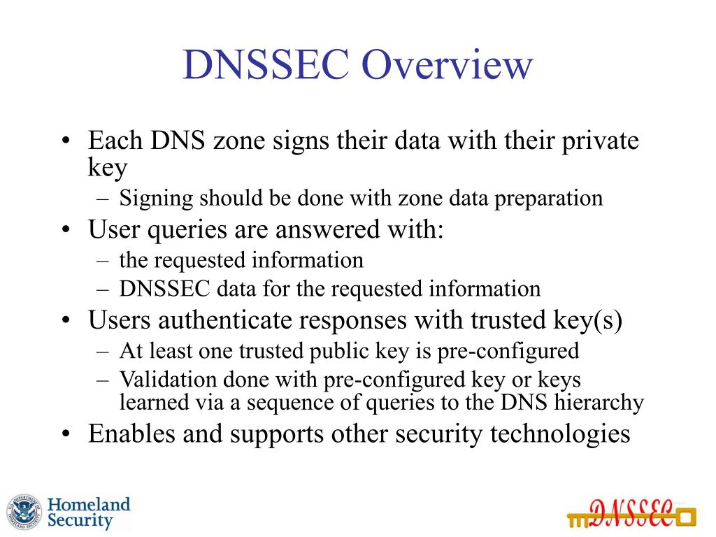 DNSSEC Overview