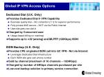 global ip vpn access options