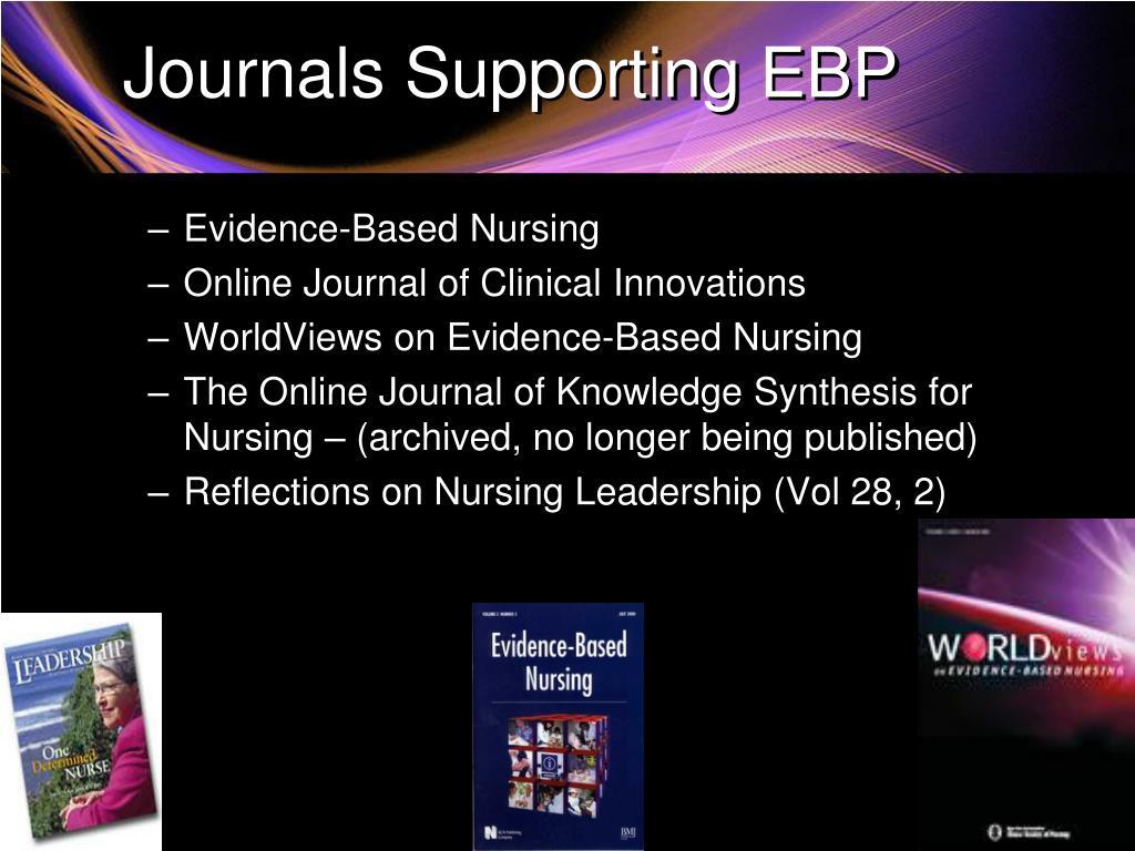 Free Online Nursing Journals Australia
