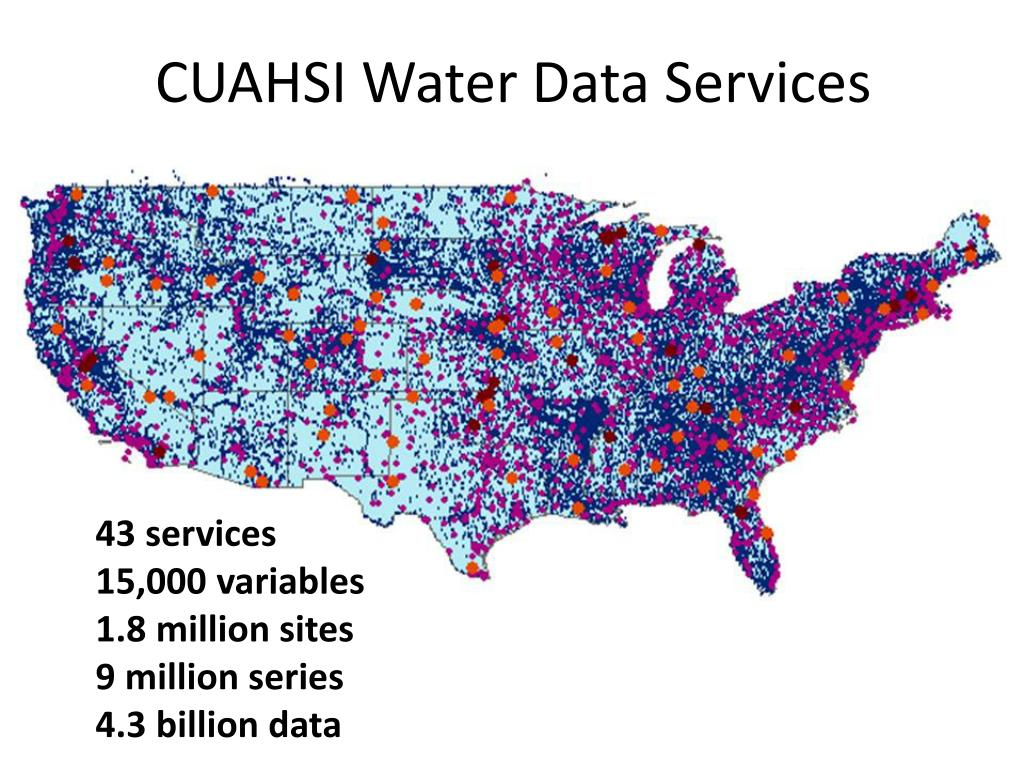 CUAHSI Water Data Services