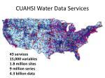 cuahsi water data services