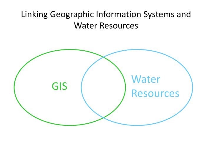 Linking geographic information systems and water resources